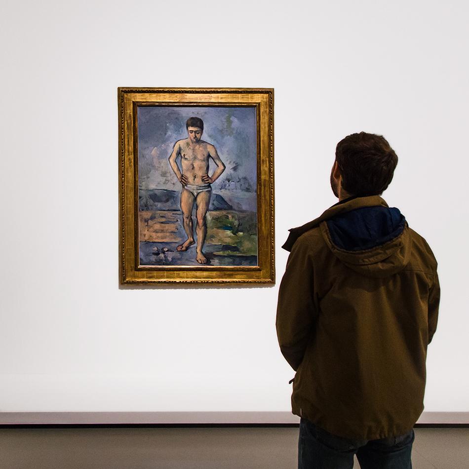 Paris, Fondation Louis Vuitton, MOMA, Paul Cézanne, Bather
