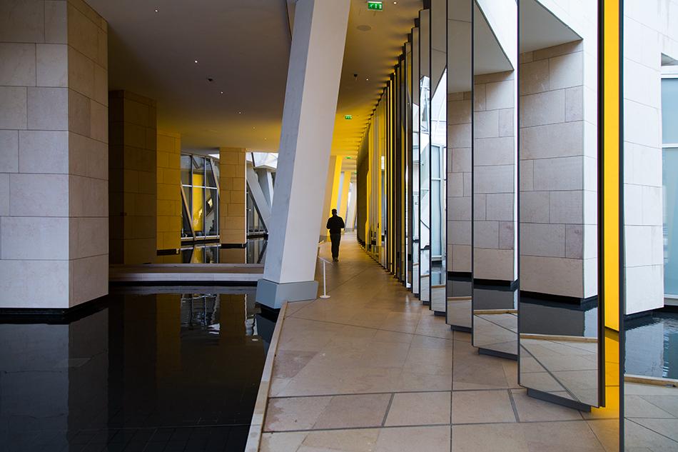 Paris, Fondation Louis Vuitton, Olafur Eliasson, Inside the horizon