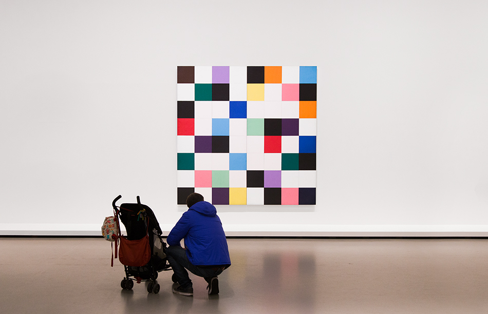 Paris, Fondation Louis Vuitton, MOMA, Ellsworth Kelly, Colors for a Large Wall