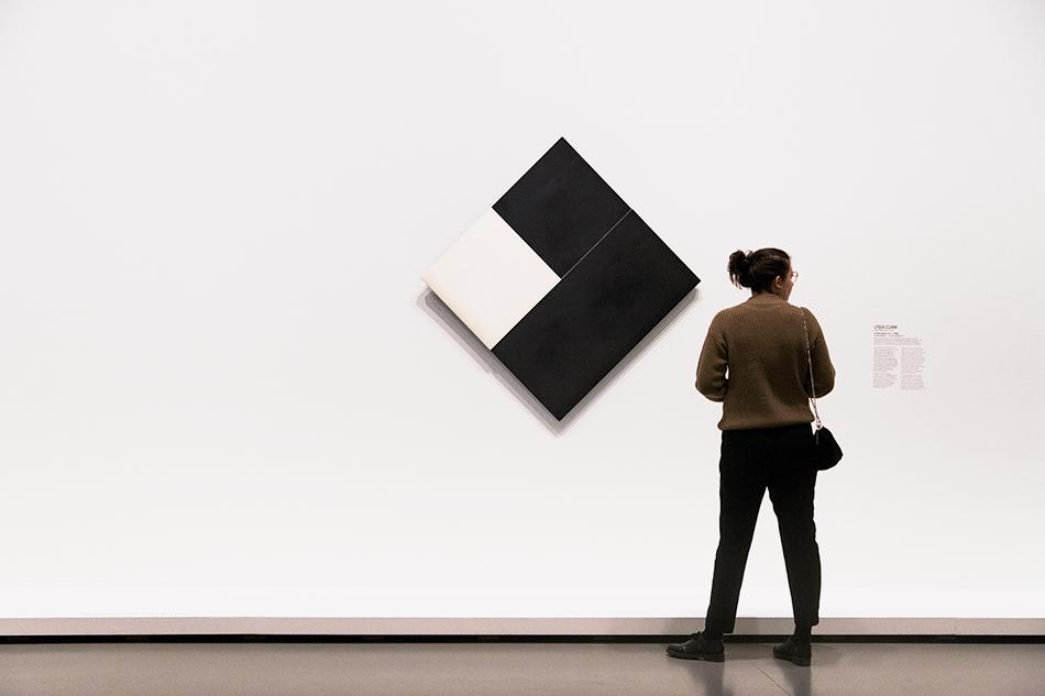 Paris, Fondation Louis Vuitton, MOMA, Lygia Clark Counter Relief no. 1