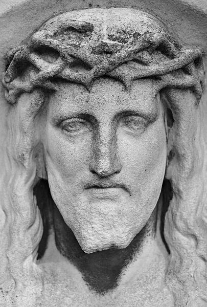 Fabian Fröhlich, Berlin, St.-Michael-Friedhof, Christus-Relief