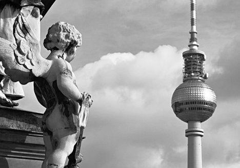 Fabian Fröhlich, Berliner Dom, Engel am Kuppelumgang, Fernsehturm