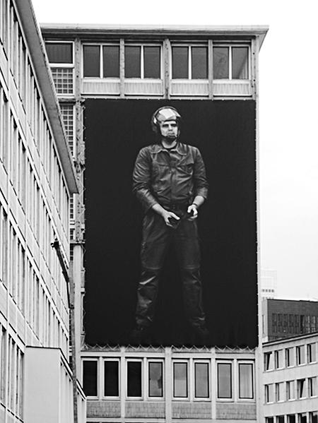 Fabian Fröhlich, Frankfurt, Paulsplatz