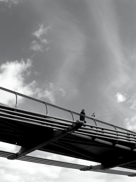 Fabian Fröhlich, London, Millennium Bridge