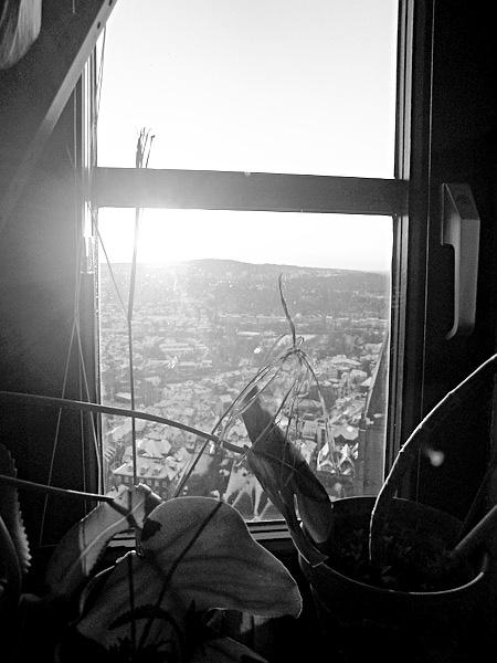 Marburg, Sonnenaufgang