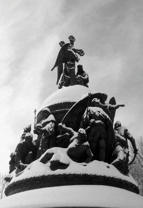 Weliki Nowgorod, Nationaldenkmal Tausend Jahre Russland