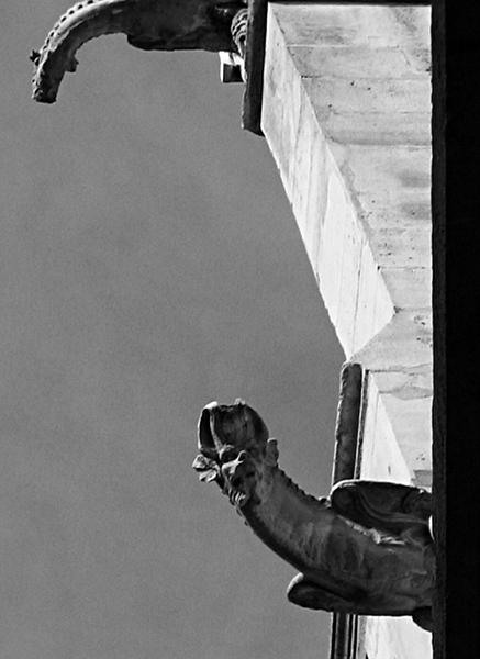 Paris, Gargoyles