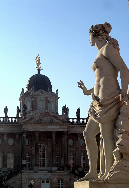 Fabian Fröhlich, Potsdam, Park Sanssouci, Neues Palais, Communs