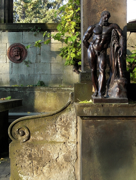 Fabian Fröhlich, Potsdam, Park Sanssouci, Römische Bäder, Herkules Farnese