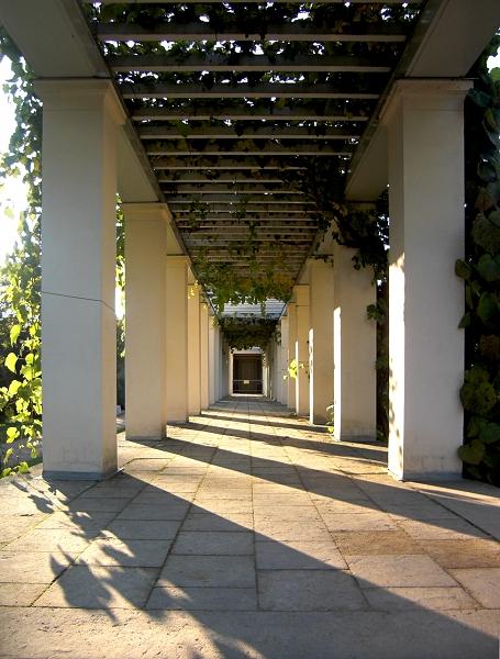 Fabian Fröhlich, Potsdam, Park Sanssouci, Schloss Charlottenhof, Pergola