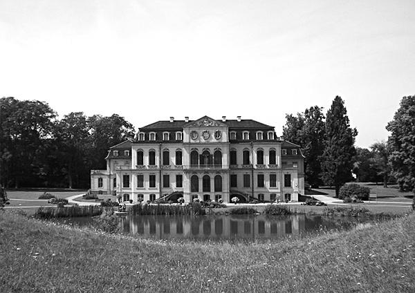 Fabian Fröhlich, Rokoko, Schloss Wilhelmsthal bei Calden, Parkseite