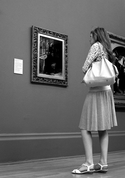 Fabian Fröhlich, Tate Britain, John Everett Millais, Mariana