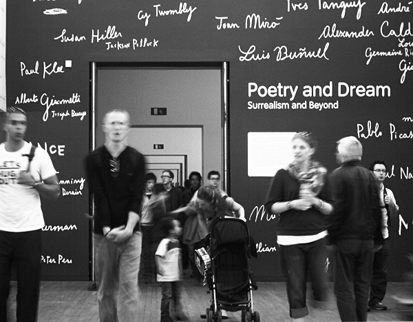 Fabian Fröhlich, Tate Modern, Poetry and Dreams