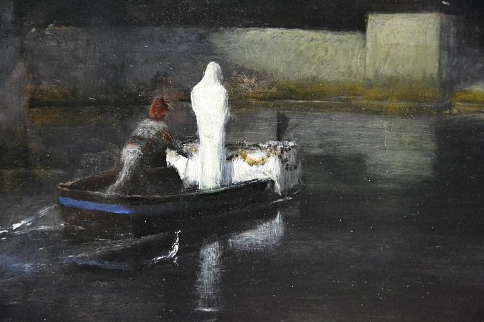 Fabian Fröhlich, Berlin, Alte Nationalgalerie, Arnold Böcklin, Die Toteninsel