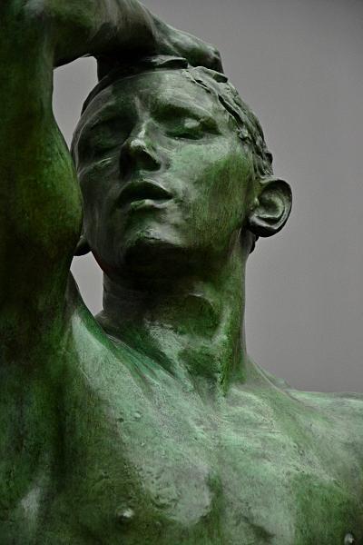 Fabian Fröhlich, Berlin, Alte Nationalgalerie, Auguste Rodin, L'Âge d'airain (Das eherne Zeitalter)