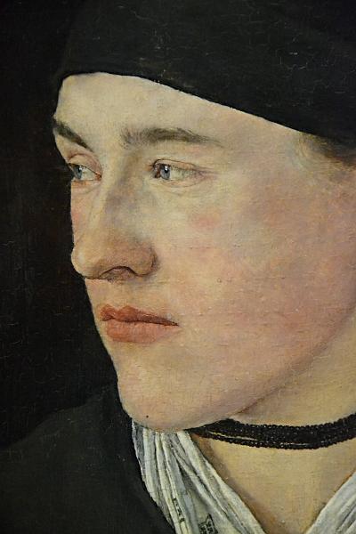 Fabian Fröhlich, Berlin, Alte Nationalgalerie, Wilhelm Leibl, Kopf eines Bauernmädchens