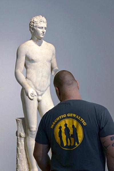 Fabian Fröhlich, Berlin, Altes Museum, Athlet