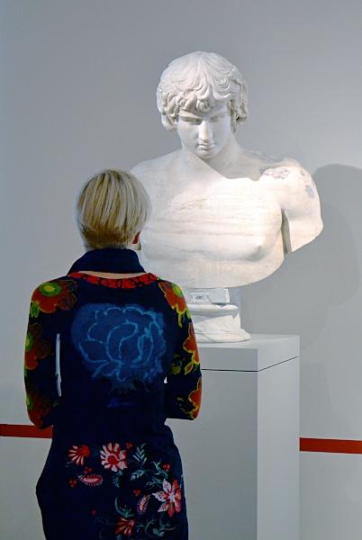 Fabian Fröhlich, Berlin, Altes Museum, Römische Büste