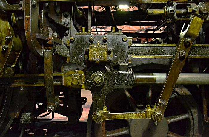 Berlin, Deutsches Technikmuseum, Lokschuppen Detail