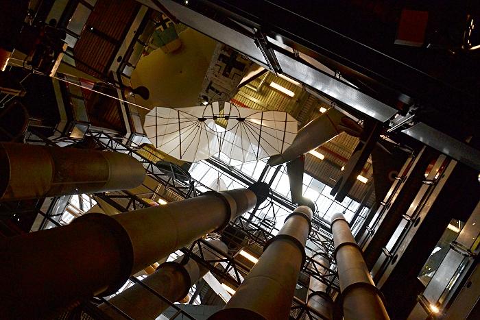 Berlin, Deutsches Technikmuseum, Dauerausstellung im Neubau