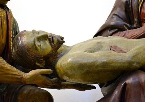 Fabian Fröhlich, Berlin, Bode-Museum, Giovanni della Robbia, Beweinung Christi, Beweinung Christi