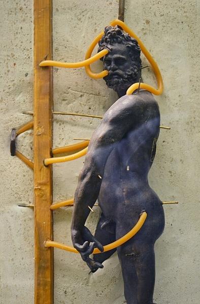 Fabian Fröhlich, Berlin, Bode-Museum, Modell Bronzeguss (Giambologna, Mars)