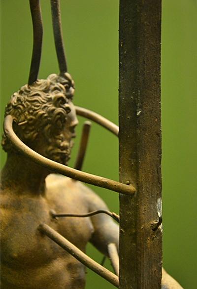 Fabian Fröhlich, Berlin, Bode-Museum, Skulpturensammlung, Modell Bronzeguss (Giambologna, Mars)