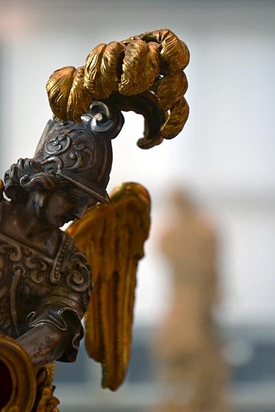 Fabian Fröhlich, Berlin, Bode-Museum, Erzengel Michael