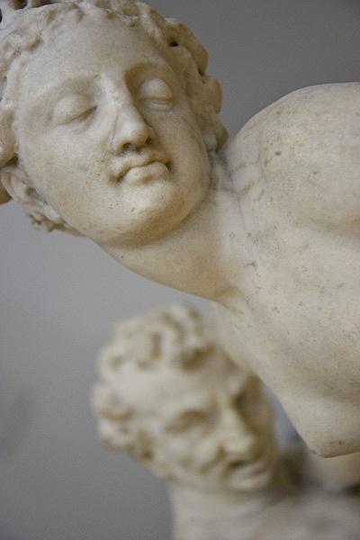 Satyr und Nymphe, Fabian Fröhlich, Skulpturensammlung, Berlin, Bode-Museum