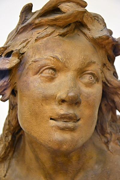 Fabian Fröhlich, Berlin, Bode-Museum, Jean Baptiste Pigalle, Kopf eines Tritons