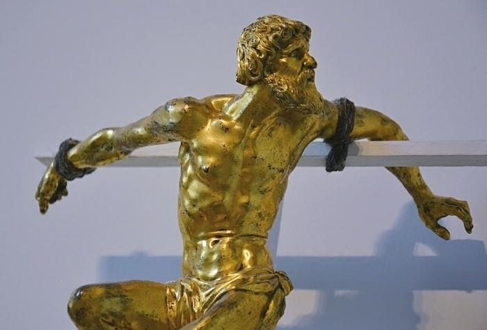 Fabian Fröhlich, Berlin, Bode-Museum, Georg Petel, Dismas (Der gute Schächer)