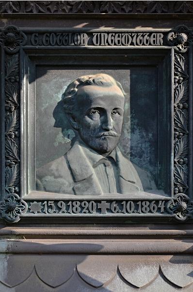 Fabian Fröhlich, Kassel, Hauptfriedhof, Georg Gottlob Ungewitter