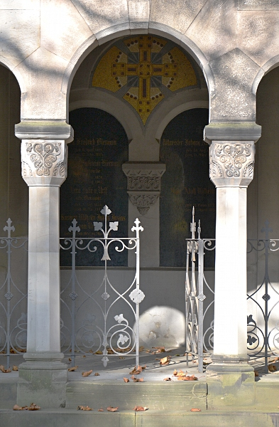 Fabian Fröhlich, Kassel, Hauptfriedhof, Grabmal