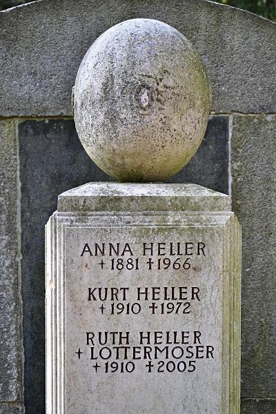 Fabian Fröhlich, Kassel, Hauptfriedhof, Grabstein