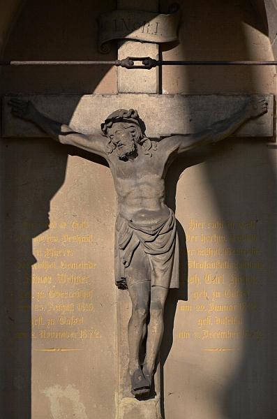 Fabian Fröhlich, Kassel, Hauptfriedhof, Kruzifix