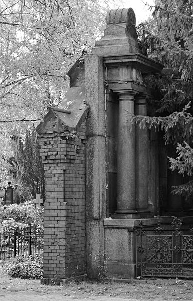Fabian Fröhlich, Berlin, Friedhöfe am Halleschen Tor, Mauer