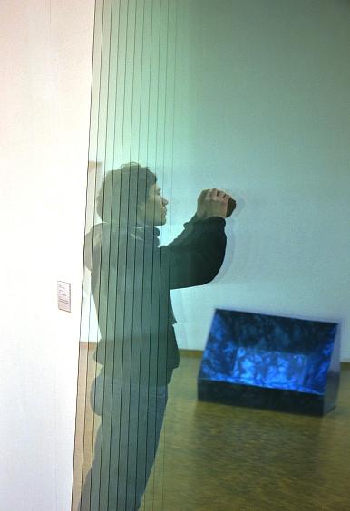 Fabian Fröhlich, Köln, Museum Ludwig, Gerhard Richter, 11 Scheiben