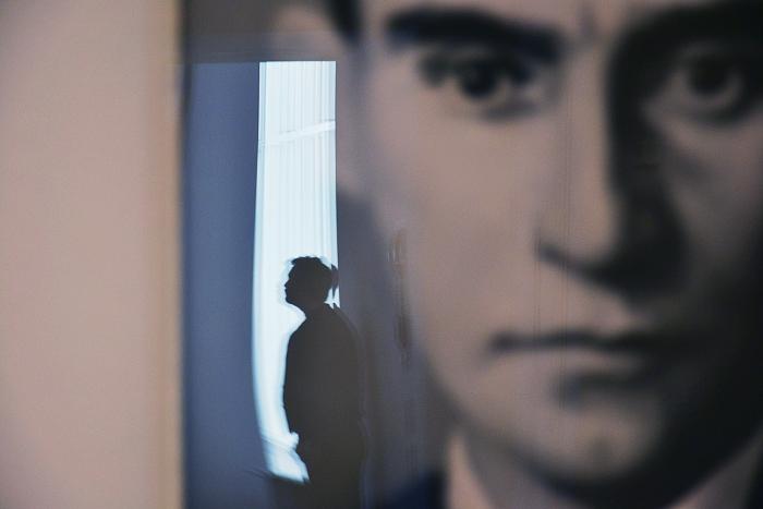 Fabian Fröhlich, Köln, Museum Ludwig, Gerhard Richter, 48 Porträts (Franz Kafka)