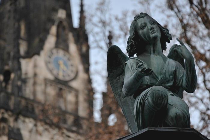 Fabian Fröhlich, Kassel, Engel, Lutherkirche