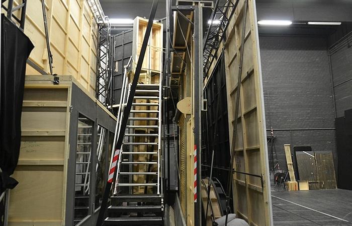 Fabian Fröhlich, Staatstheater Kassel, Opernhaus, Linke Seitenbühne