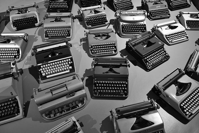 Fabian Fröhlich, Köln, Kolumba, Schreibmaschinen