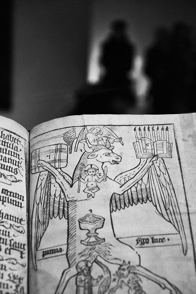 Fabian Fröhlich, Köln, Kolumba, Blockbuch