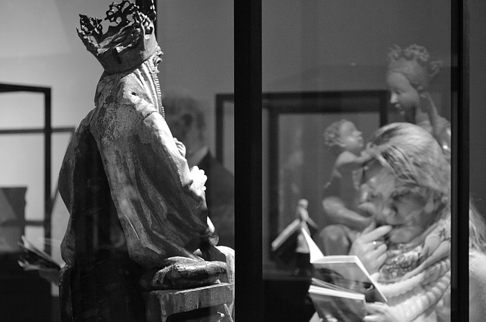 Fabian Fröhlich, Köln, Kolumba, Madonna mit der Traube