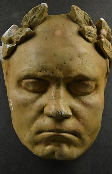 Fabian Fröhlich, Kassel, Museum für Sepulkralkultur, Totenmaske von Napoleon