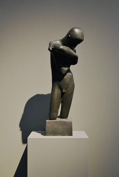 Fabian Fröhlich, Köln, Wallraf-Richartz-Museum, Georg Minne, Knabe mit Muschel