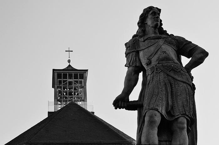 Fabian Fröhlich, Kassel, Karlskirche und Statue von Landgraf Karl