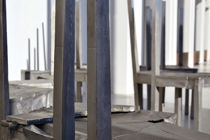 Fabian Fröhlich, Kassel, Neue Galerie, Doris Salcedo, Thouless