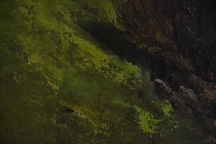 Fabian Fröhlich, Kassel, Neue Galerie, Gustave Courbet, Wiesenhang bei Ornans