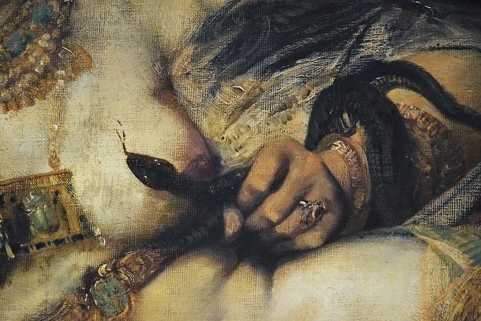 Fabian Fröhlich, Kassel, Neue Galerie, Hans Makart, Tod der Kleopatra