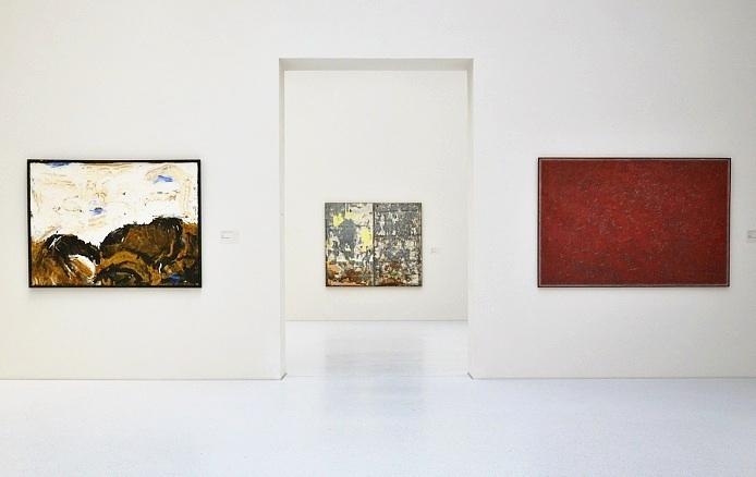 Fabian Fröhlich, Kassel, Neue Galerie, Emil Schumacher, Raymond Hains, Piero Dorazio